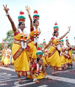 pongalfest karagam dance