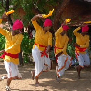 pongalfest oyilattam dance